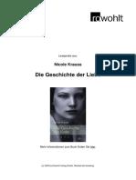 Krauss Die Geschichte Der Liebe