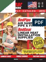 REDGEAR Linear Heat Detection Catalog 2015 v1.7