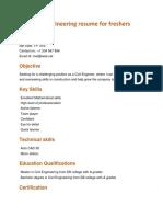 Civil Engineering cv for Freshers.docx