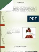 liofilizado de frutas y hortalizas