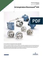 Transmetteur de température Rosemount® 644.pdf