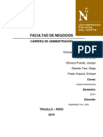 Case Tejidos Paracas s.a.