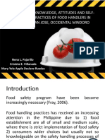Pajarillo, Villanada&Ruedas_Food Safety
