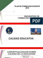 Calidad Educativa. Fabiola Alves Perez