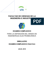 Simulacro Examen Complexivo Práctico Electromecánica 1