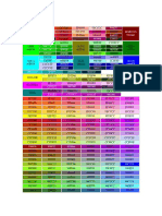 256 Colores RGB