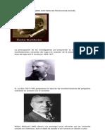 Linea de Tiempo Sobre Historia de Psicologia Social