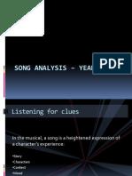 Song Analysis - Year 2