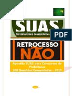 Apostila SUAS Para Prefeituras 2019 - 100 Questões Comentadas - AMOSTRA
