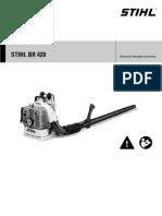 STIHL BR 420. Manual de Instruções de Serviços - PDF