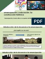 Construcción de La Educación Popular