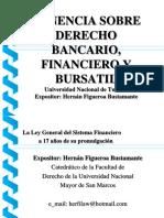 PONENCIA DERECHO BANCARIO FINACIERO Y BURSATIL