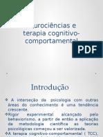 Neurociências e TCC