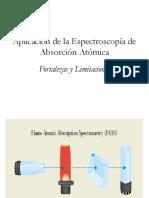 Aplicación de la absorción atómica