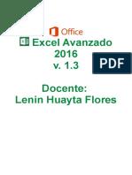 Excel Avanzado 2016 v.1.3