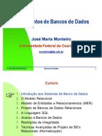 Slides Banco de Dados