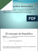 Chile Una Republica Democratica