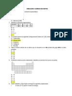 Simulacro 2 Química Descartes