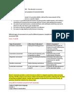 Exam Paper Answers EDAHOD5 the Educator as Assessor