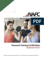 Personal Trainer Workshop Worksheet Packet
