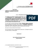 Oficio No 42cambio Hidraulico