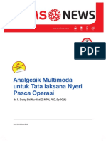 Analgesik Multimoda untuk Tatalaksana Nyeri Pasca Operasi