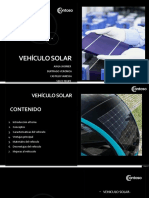 Vehiculo Solar
