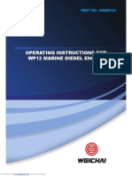 Operating Instructions for Wp12 Marine Diesel Engine