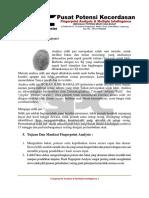 Apa Itu Fingerprint Analysis NEW FIX