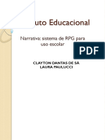 Sistema rpg para uso escolar