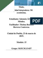 AlvarezMendez Salomon M15S2 Mi Ecosistema