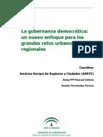 Gobernanza Democratic A, Nuevo Enfoque Retos Urbanos y Region Ales