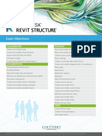ACP Revit Structure Exam Objectives 052517RA