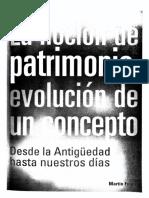 Texto 5 - FUSCO - La Noción de Patrimonio Evolución de Un Concepto