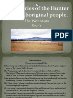 Boundaries of the Hunter Valley Aboriginal People
