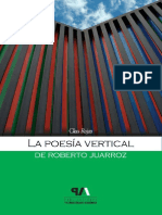 La Poesia Vertical de Roberto Juarroz