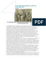 Una Aproximación Al Tema de Los Indios y La Idea de Nación en El Perú Del Siglo XIX