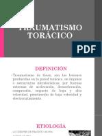 TRAUMATISMO TORÁCICO.pptx