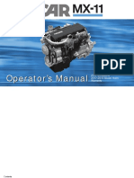 Paccar Mx 11  ENGINE Operators Manual 2018