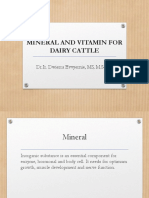 Chapter 10 Mineral Dan Vitamin