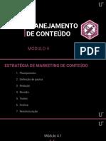 4.1 - Planejamento e Estratégia