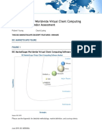 IDC MarketScape Virtualization Vendors 2015