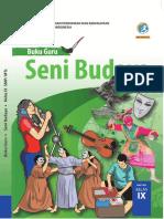 [materiku86.blogspot.com] Buku Guru Senibudaya Kelas 9 Kurikulum 2013 Revisi 2018 Sem 1.pdf