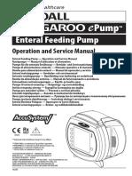 Kendall Kangaroo EPump Feeding Pump - Service Manual