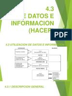 4.3 datos e información