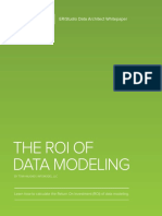 ERStudio ROI of Data Modeling