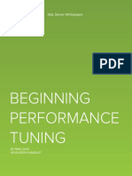 Beginning Performance Tunning