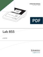 Lab 855 PH Meter 560 KB English PDF