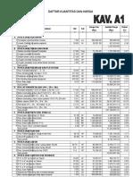 Software Untuk Menghitung RAB Pembangunan Unit Rumah