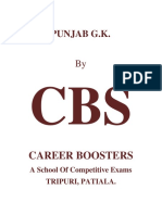 CBS Punjab GK - Part1